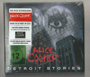 ALICE COOPER DETROIT STORIES CD+BONUS TRACKS+DVD-Paris A Paranormal Evening with