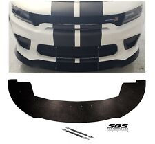 FRONT SPLITTER & 2 SUPPORT RODS 2020 DODGE CHARGER WIDEBODY HELLCAT&SCATPACK
