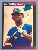 1989 Donruss #33 KEN GRIFFEY Jr. (Mariners) RR RC (Rated Rookie/Rookie Card)