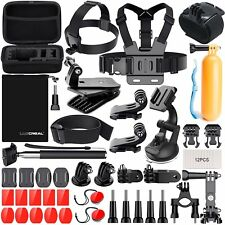 Kit Accessori Action Cam, Accessori per Gopro per Go Pro Hero 6 5 4 3 2 1 Hero S
