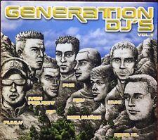 GENERATION DJ'S - 2002 VARIOS  4Cd Nuevo Precintado