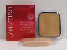 Shiseido Sheer Matifying Compact Foundation Refill O60 Natural Deep Ochre SPF21