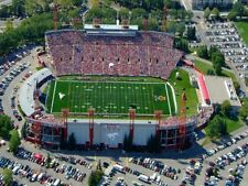 Cfl Calgary Stampeders McMahon Stadium Aerial View 8 X 10 Color Photo Picture