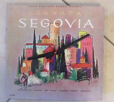 SEGOVIA Album Cover Clock!-Makes a great gift---Free shipping!!