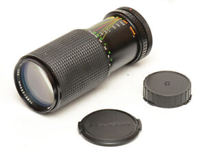Rokinon 80-250mm F4.5/4.8 Lens For Canon FD Mount! Good Condition!
