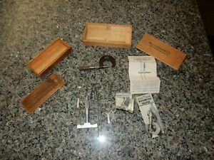 Vintage Lufkin Micrometer 1911 Brown And Sharpe 608 Depth Micrometer