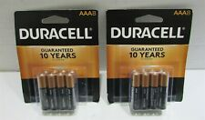 Duracell AAA Size Battery - Lot of 2 (8pack) EXP; 03/2028