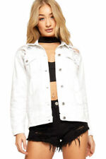 Cappotti e giacche da donna bianchi casual Taglia 40