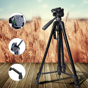 141cm Kamerastativ mit Kugelkopf Universal Fotostativ max Belastbarkeit bis 3KG★