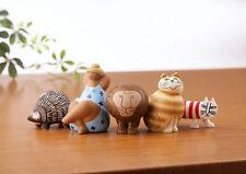 Kaiyodo Lisa Larson miniature Fabrica Figure Japan set of 5