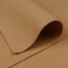 Woolfelt Camel Brown ~ 22cm x 90cm / quilting wool felt fabric toy making