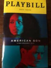 American Son  playbill Opening Night Broadway play 2018 NYC Jeremy Jordan