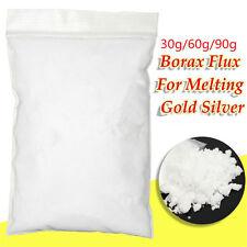 30~90g Borax Powder Anhydrous Metal Casting Melting Flux Gold Assay Forging Flux