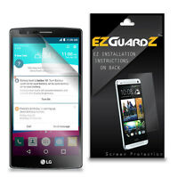 2X EZguardz NEW Screen Protector Skin Cover Shield HD 2X For LG G4 (Ultra Clear)