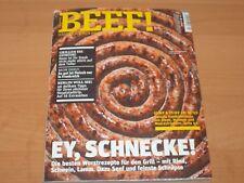 """BEEF! Nr. 46 Männer kochen anders """"EY, SCHNECKE!"""" Ausgabe 4/2018"""