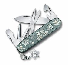 Victorinox Pioneer X Winter Magic Alox Spezial LE 2020 Blau-Grau Schneeflocke