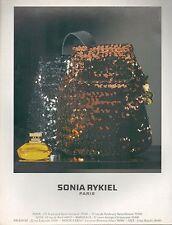 ▬► PUBLICITE ADVERTISING AD SONIA RYKIEL Parfum 1994