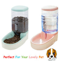 3.8L Automatic Pet Feeder Dog Cat Food Water Dispenser Drinking Bowl Bottle CY