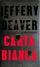 DF3ZN6K47V CARTA BIANCA - JEFFERY DEAVER - RIZZOLI - 6516