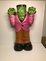 Empire Blow Mold Large Frankenstein Monster Halloween Lighted Yard Decoration