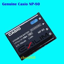 Genuine Casio NP-80 Battery For EX-Z1 Z2 Z270 Z280 Z550 Z19 Z33 S5 S9 np-82