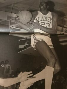 Vintage MICHAEL JORDAN 1981 LANEY HIGH SCHOOL Print Photo SUPER RARE