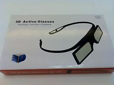 Bluetooth 3D Active Glass for Samsung Toshiba Panasonic and all Bluetooth 3DTV