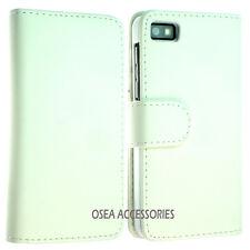 Blackberry Z10 BB10 Leather Case Cover Pouch Sleeves Wallet Flip Skin Back GEL