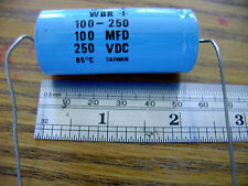 100 MFD CAPACITOR 250 VDC  $4.15 each  NEW  FREE SHIPPING FROM N.Y STATE