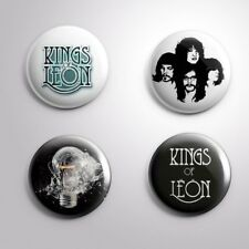 4 Kings Of Leon - Pinbacks Badge Button Pin 25mm 1''