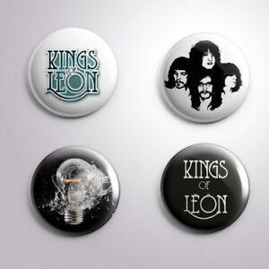 4 KINGS OF LEON - Pinbacks Badge Button Pin 25mm 1''