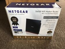 More details for netgear d6300 ac1600 dual band wireless adsl2+ modem router boxed