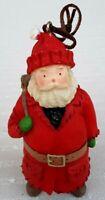 "Vintage ~2003 Hallmark  3.5"" Santa Christmas Holiday Ornament Collectible"