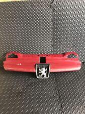 Peugeot 406 Rejilla Parachoques Delantera Color Rojo 9616258477