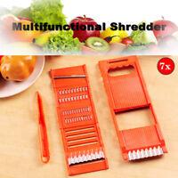 6 In1 Vegetable Fruit Slicer Peeler Chopper Dicer Kitchen Multifunction