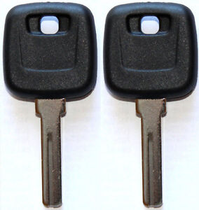2 NEW FOR VOLVO S90 V90 S70 C70 V70 MASTER CHIPLESS UNCUT KEY BLANK - CASE ONLY