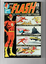 FLASH #205 - Grade 8.0 - Sixty-Four Page Spectacular! Reverse Flash! Kid Flash!