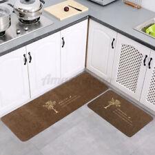 Modern Home Non-slip Entrance Door Floor Kitchen Rug Mat Bathroom Carpet USA ◍