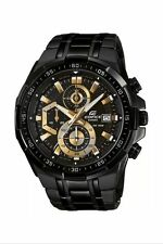 Casio Edifice Men's EFR-539BK-1AV Sport Watch with Chronograph Stainless Steel