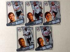 TOPPS PREMIER LEAGUE 2006/07 I-CARDS. FULL SET OF ALL 5 FULHAM