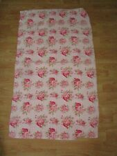Vintage PINK ROSE  BATH Towel