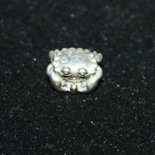 Pandora Sterling Silver RETIRED Happy Crab Charm w/ 14k Overlay 791135 [06HIL]