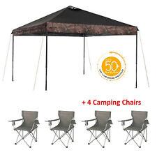 Instant Canopy Tent 10 x 10 Gazebo Straight Leg Camping Ozark Trail Camp Shelter
