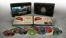 Harry Potter Hogwarts Complete 8 Film Collection Blu-ray Boxset Boxed Set New
