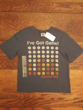 New With Tags! Child's Connect Four T-shirt Size S Small