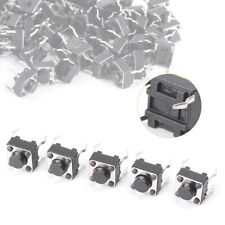 50pcs  6x6x5mm Tactile Touch Push Button Switch Mini Momentary Tact Switches