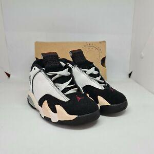 Jordan XIV 9C Black Toe - air og vtg 1998 98 14 crib toddler baby red 132549-101