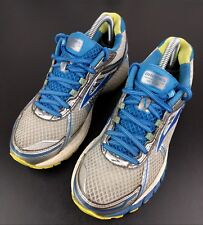 Blue Gray Brooks Adrenalin GTS Running Shoes Womens SZ 8.5 B DNA Athletic Trail