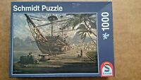 Ship at Anchor 1000 Piece Jigsaw By Schmidt