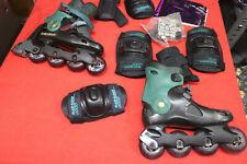 Rollerblade Spiritblade Inline Skates men's w/ Protective Equipment